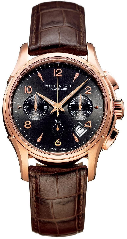 [ハミルトン]HAMILTON 腕時計 AMERICAN CLASSIC JAZZMASTER AUTO CHRONO H32646595 メンズ [正規輸入品] B001F7OMXI