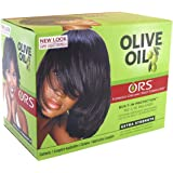 Organic Root Stimulator Olive Oil No-lye Relaxer Extra Strength Kit
