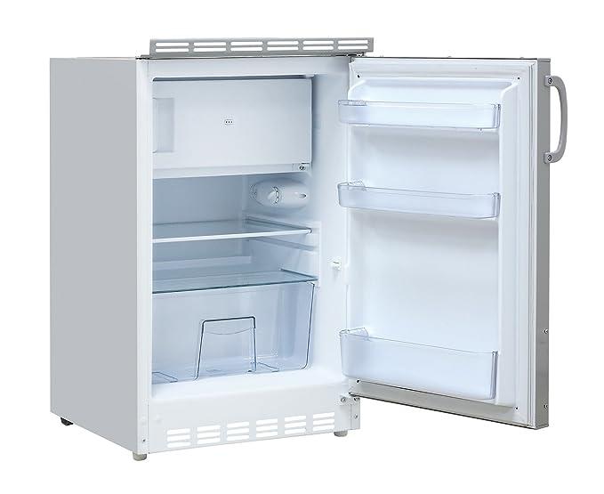 MEBASA MEBAKB1500BBM Singleküche dekorfähiger Kühlschrank ...