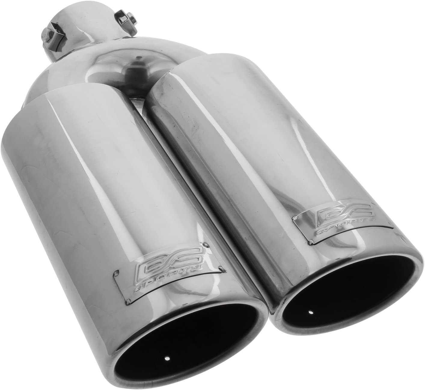 DC Sport EX-2024 Stainless Steel Slant Cut Bolt-on Exhaust Tip