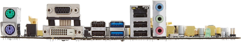 Asus uATX DDR3 Intel 1150 UEFI BIOS EZ Graphic Interface Motherboard H81M-E