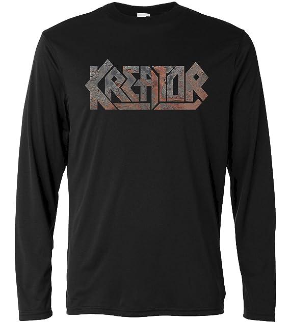 LaMAGLIERIA Camiseta Hombre Kreator Texture - Camiseta Rock Metal t-Shirt 100% Algodòn Ssd0Dl