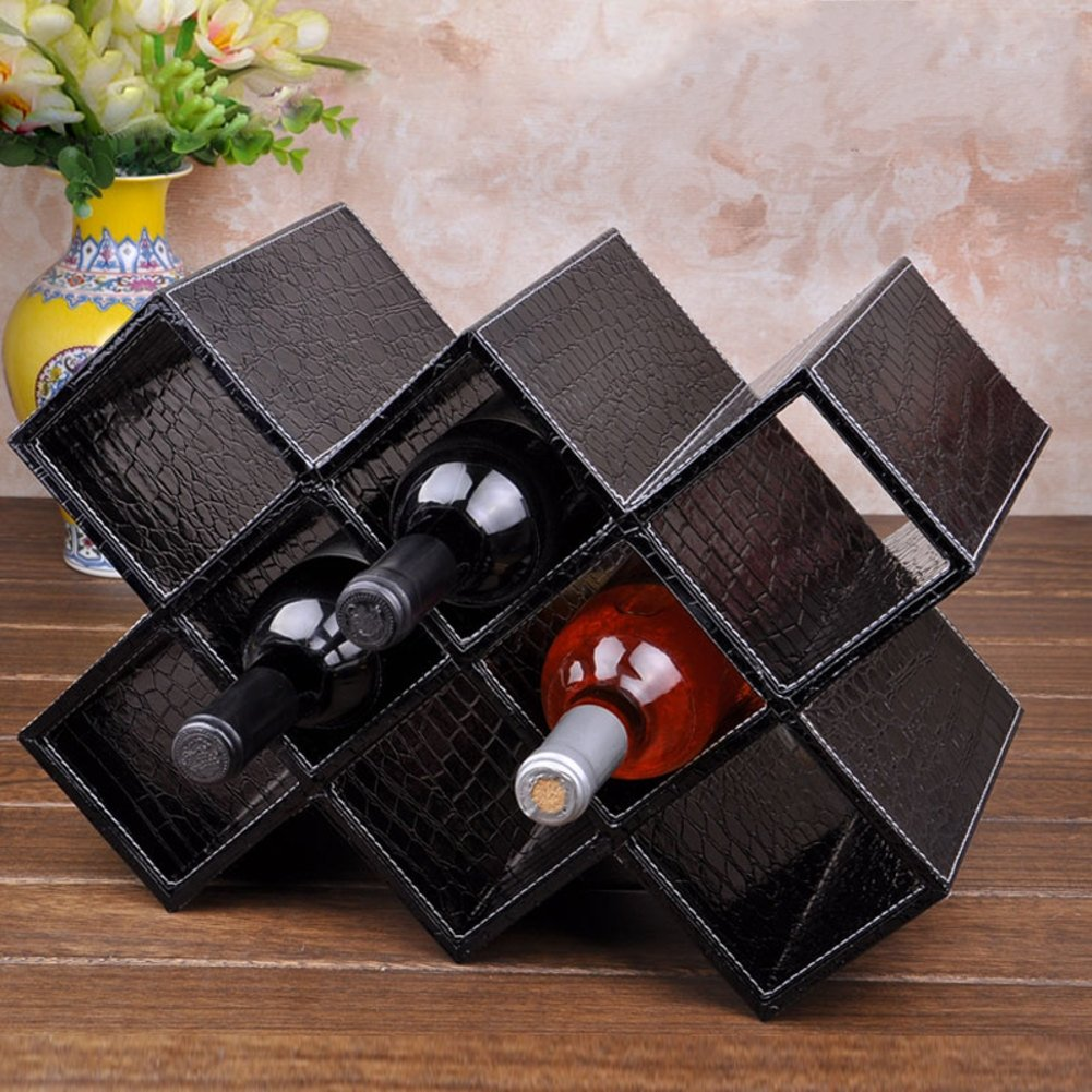 Wooden wine glass holder,Wedding wine cup rack stemware glass storage organizer freestanding wine cup display stand-G L16.5W8H11inch(41.52028cm)