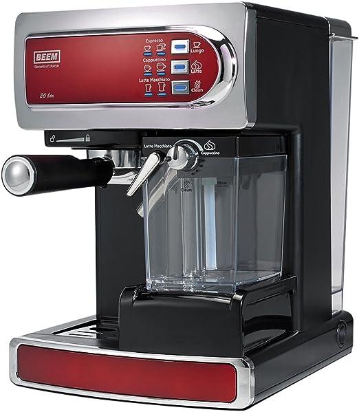 BEEM Germany D2000540 Cafetera automática, color rojo