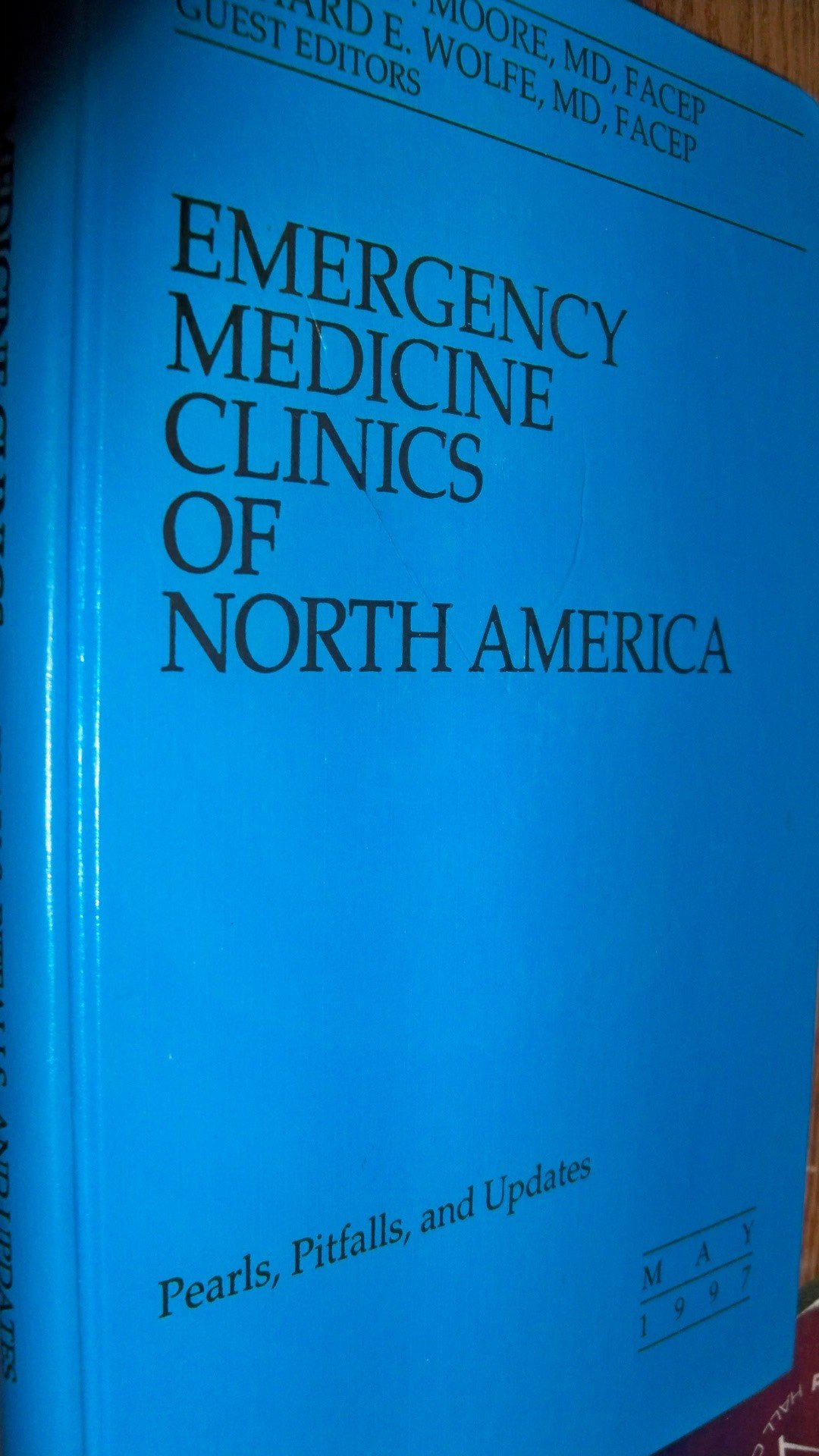 Emergency Medicine Clinics of North America -- Pearls