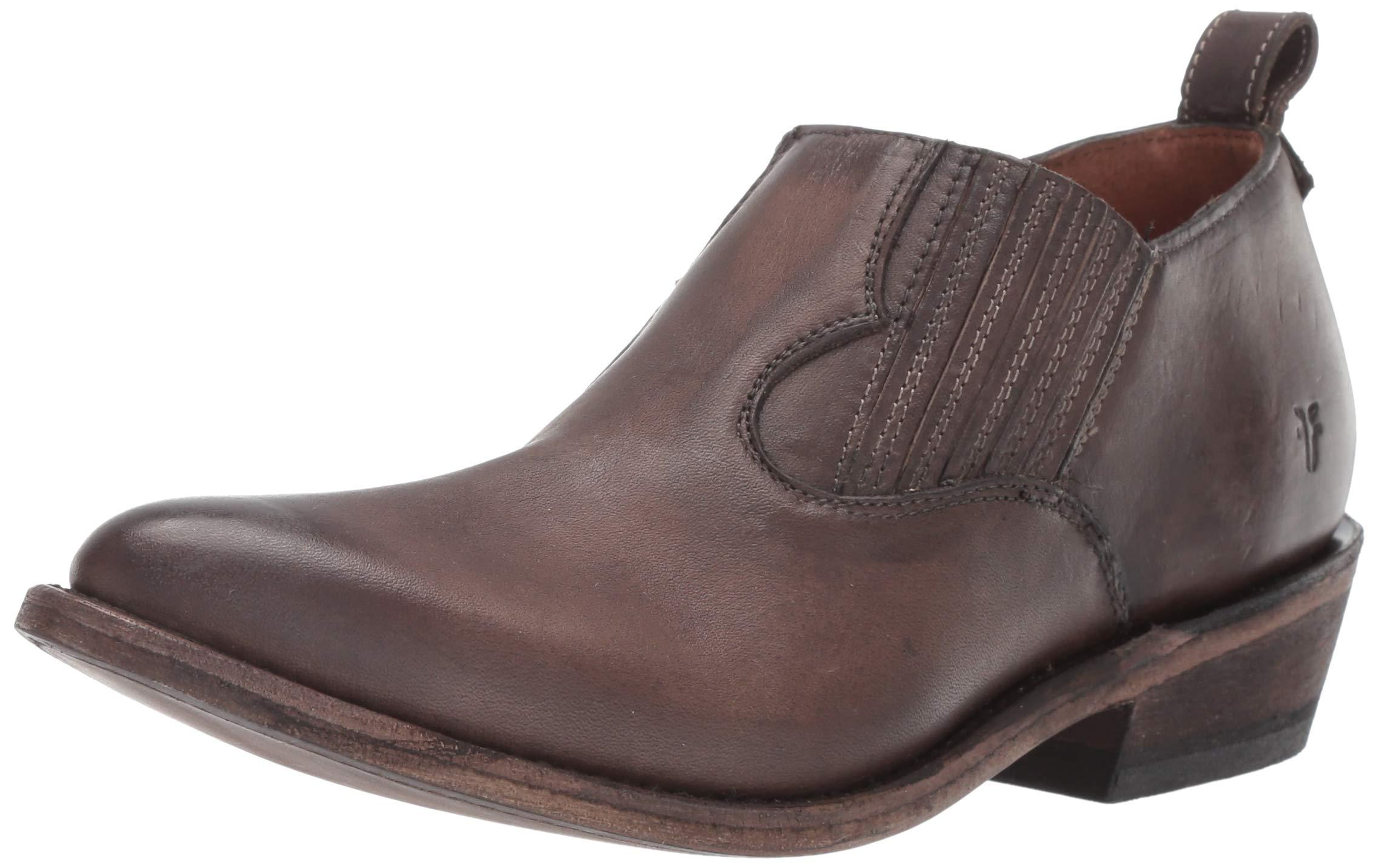 FRYE Women's Billy Shootie Western Boot, Smoke
