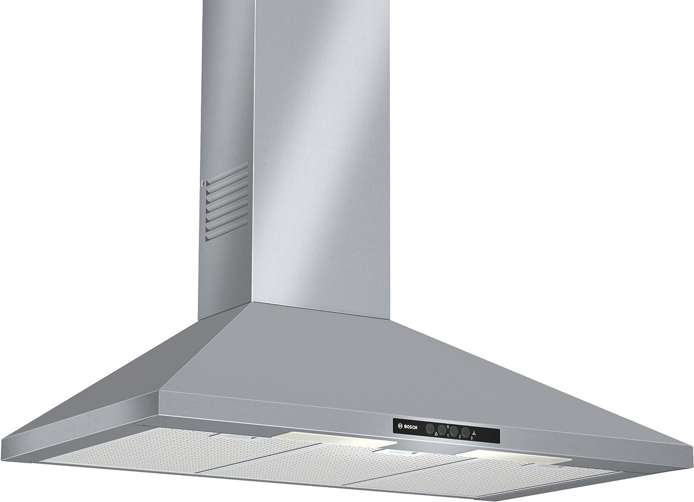 Bosch DWW09W650 - Campana (Recirculación, 650 m³/h, 300 m³/h, Montado en pared, Halógeno, Acero inoxidable): 171.18: Amazon.es: Grandes electrodomésticos