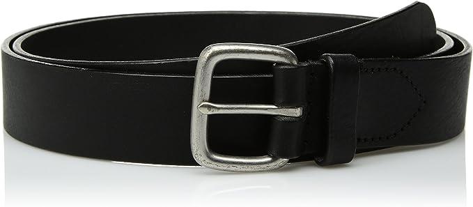 Circa Leathergoods Mens Casual Embossed Leather Belt