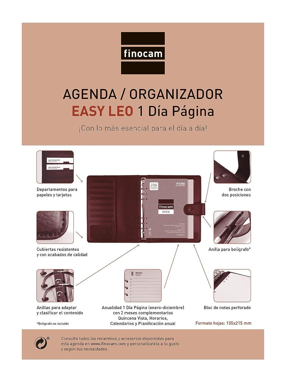 Agenda organizador 2019 día página español