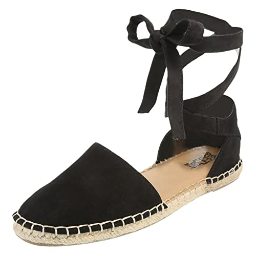 bb040687d99 Brash Black Suede Women's Gill Espadrille Flat 13 Regular: Amazon.ca ...