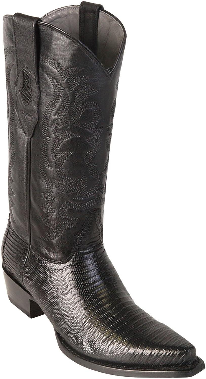 Men's Snip Toe Genuine Leather Teju