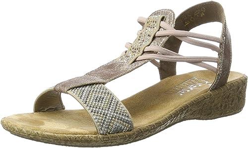 Rieker Sandale beigerose |