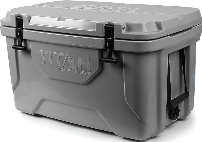 Arctic Zone Titan Deep Freeze 20Q Premium Ice Chest Roto Cooler, Gray