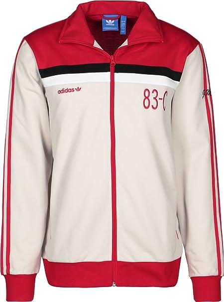 adidas Originals Mens 83 C Retro Tracksuit Jacket: Amazon.co