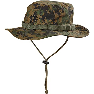 ac20528d8a5 Helikon USMC Boonie Hat Digital Woodland  Amazon.co.uk  Clothing