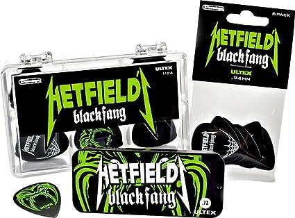Dunlop .94mm James Hetfield Black Fang Pick 6-Pack