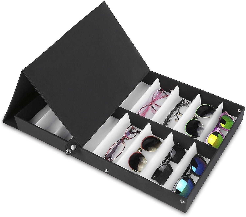 Paide P Glasses and Jewelry Organisator des Ausstellers Halten Sie Ihre Brille aufger/äumt