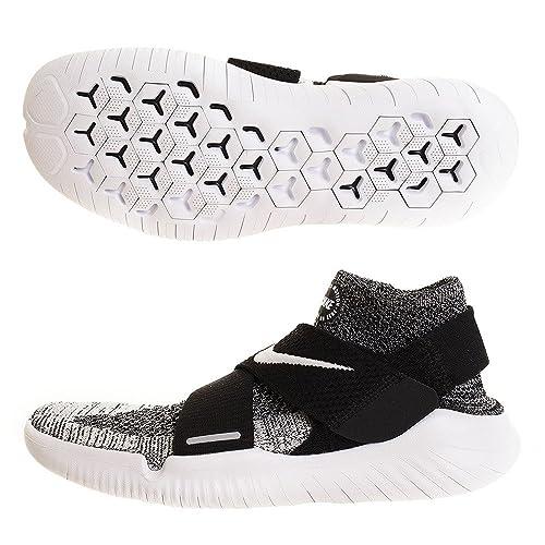 Nike Free RN Motion FK 2018, Zapatillas de Deporte para Hombre, Negro (Black/White 001), 44 EU: Amazon.es: Zapatos y complementos