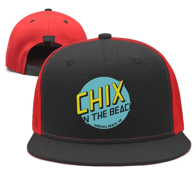 TylerLiu Baseball Cap Chix Seaside Grille Virginia Beach Snapbacks Truker Hats Unisex Adjustable Fashion Cap