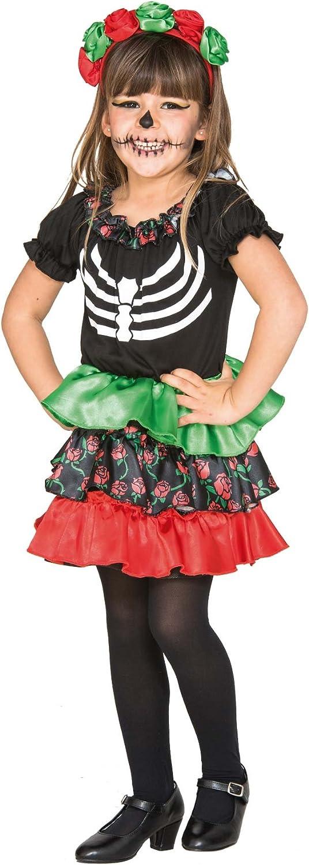 Fyasa 706465-tbb Catrina disfraz de niña, pequeñas: Amazon.es ...