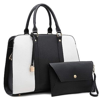 287de18b4f2f MMK Fashion Designer women s Handbag~Stylish vegan Leather for Ladies  Satchel Tote shoulder purse bag