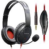 エレコム ヘッドセット ゲーミングヘッドセット オーバーヘッドフォン 2.0m ミュート機能付 PC/PS4/Nintendo Switch対応 HS-F01XBK