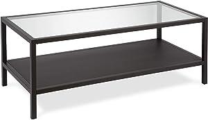 Henn&Hart Coffee Table, One Size, Black