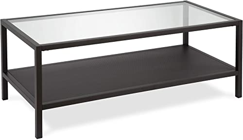 Henn Hart Coffee Table, One Size, Black