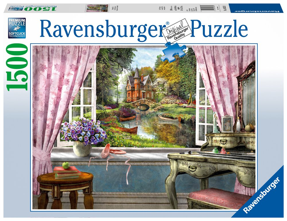 Ravensburger Bedroom View 1500 Piece Jigsaw Puzzle for Adults - Softclick Technology Means Pieces Fit Together Perfectly by Ravensburger