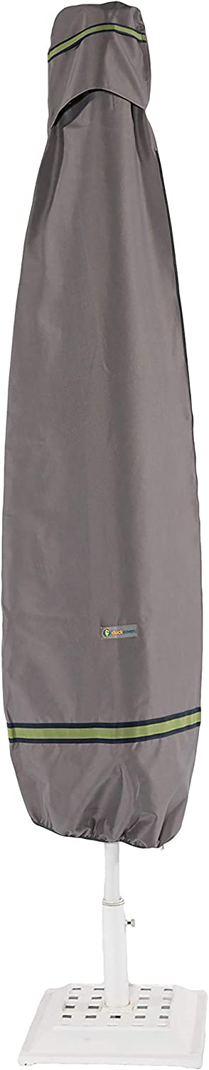 "Duck Covers Soteria Rainproof 76"" Tall Patio Umbrella Cover with Installation Pole"