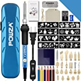 72Pcs Wood Burning Kit for Beginners, Adjustable Professional Wood Burner Pen Tool and Accessories, woodburning…