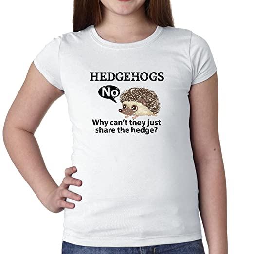 82389af3d Image Unavailable. Image not available for. Color: Hedgehogs, Why Can't  They Share The Hedge?