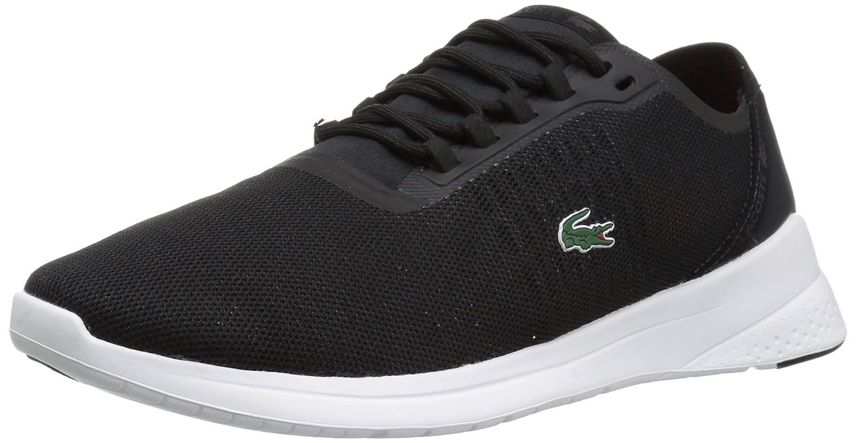 Lacoste Women's LT Fit 118 4 SPW Sneaker B071X86HCC 7 B(M) US|Black/Dark Grey