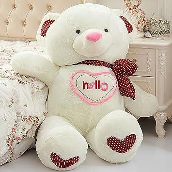 VerCart Grand Nounours Ours en Peluche XXL Teddy Bear Jouet Oursons Douce Cadeaux pour Bébé Enfant