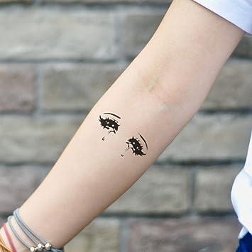 Tatuaje Temporal de Ojos de anime (2 Piezas) - www.ohmytat.com ...