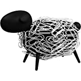 Sheepi - Magnetic Paper Clip Holder Securely Hold paperclips, Staples, hairclips and Other Magnetic Accessories.