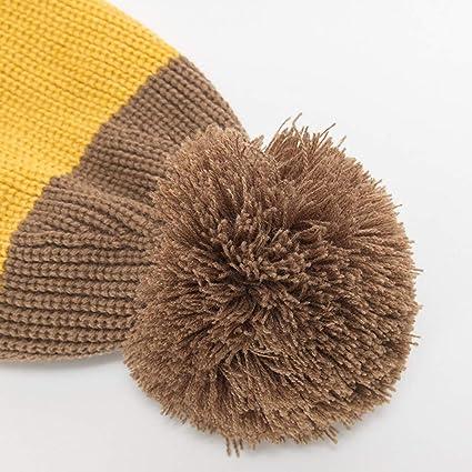 ZEELIY Cappello da Donna e Uomo in Arricciata Bicolore Abbinato più Velluto  Berretti in Maglia  Amazon.it  Abbigliamento a9a232d6a690