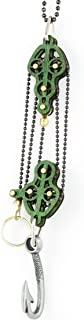 product image for Green Tree Jewelry Block and Tackle Pulley Hook Pendant 7004C