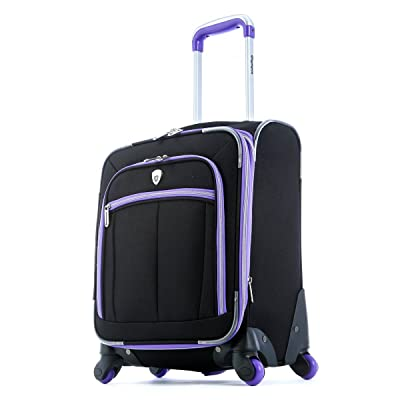 Olympia O-Tron 18 Inch Carry-On, Purple, One Size