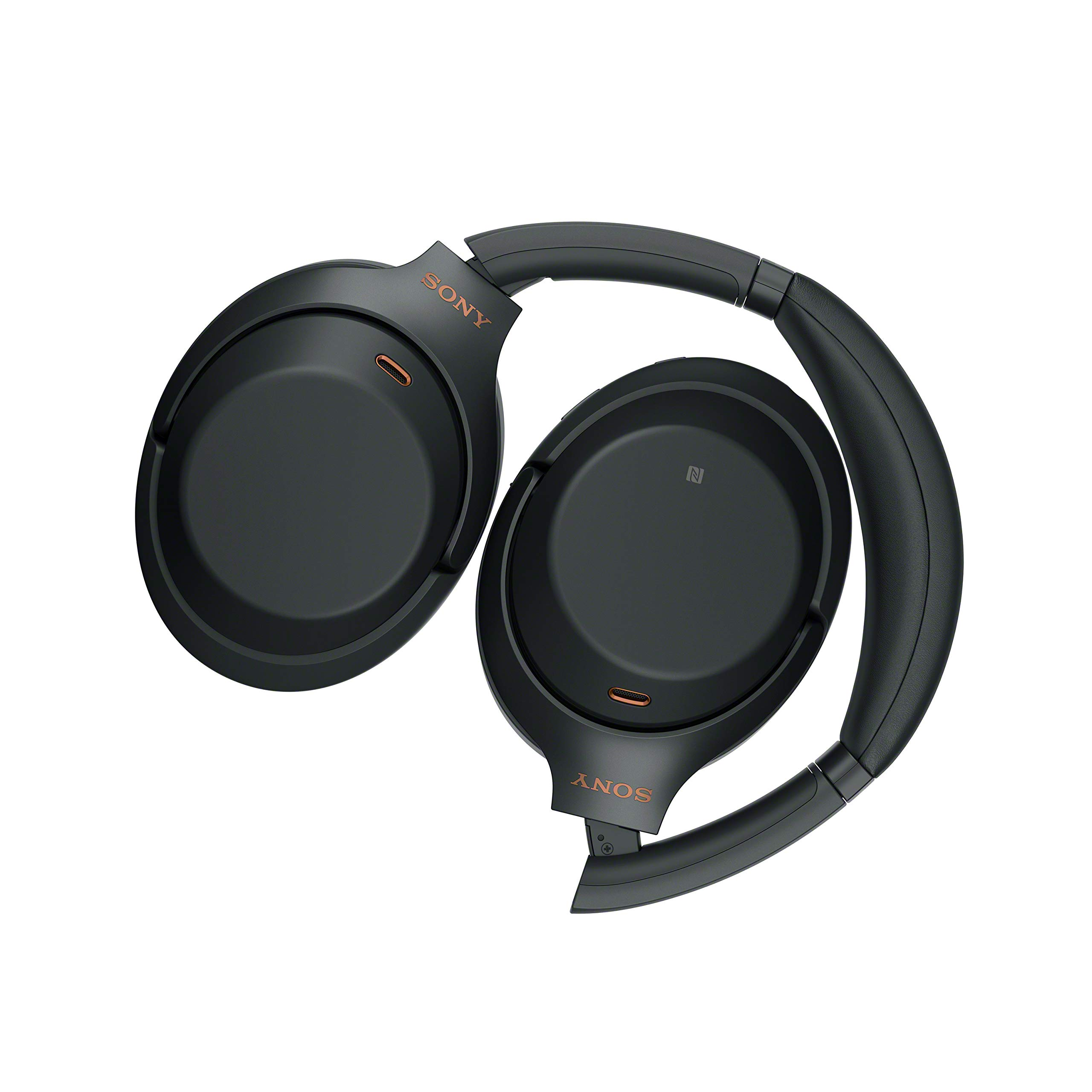 Sony WH1000XM3 Bluetooth Wireless Noise Canceling Headphones, Black WH-1000XM3/B (Renewed) by Sony (Image #4)
