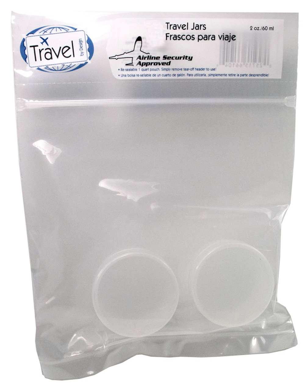 92fc2f1002d4 Amazon.com : Travel by Design Airline Security Approved Plastic ...