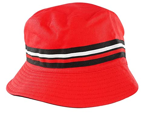 0b0dea5558dd4 Fila Men s Heritage Basic Comfort Bucket Hat S M RED  Amazon.ca ...