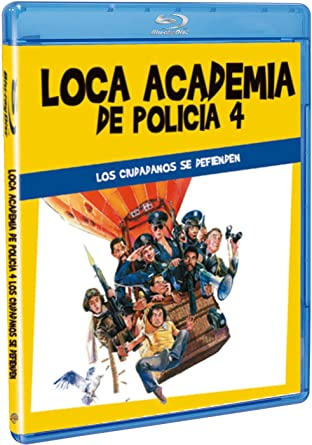 Loca Academia De Policía 4 Blu Ray Amazon Es Steve Guttenberg Bubba Smith Michael Winslow David Graf Tim Kazurinsky Sharon Stone Jim Drake Steve Guttenberg Bubba Smith Paul Maslansky Cine Y Series Tv