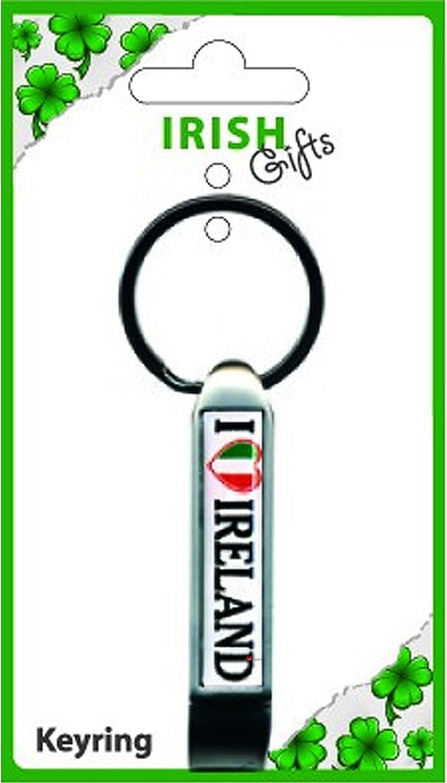 最も優遇 Irish Long Bottle Opener Keyring Keyring I Love Ireland Ireland Heart Tricolour Shaped Tricolour Flag B00831UPXU, インプレッション AUTO:9a58d1e7 --- yelica.com
