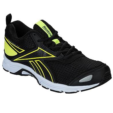 more photos 3a512 5cb6d Reebok Triplehall 5.0, Chaussures de Running Homme, (Noir Jaune Solaire),