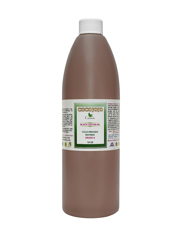 16 OZ Jamaican Black Castor Oil Cold Pressed 100% Pure Natural Hair Skin Eyelashes Restore Pure Virgin Black Castor Oil Refined Premium Grade A