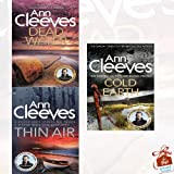 Shetland Series Ann Cleeves Collection 3 Books Bundle With Gift Journal (Dead Water, Thin Air, Cold Earth)