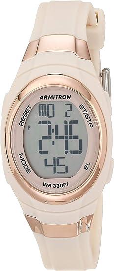 Armitron Sport Women's Digital Chronograph Resin Strap Watch, 45/7034
