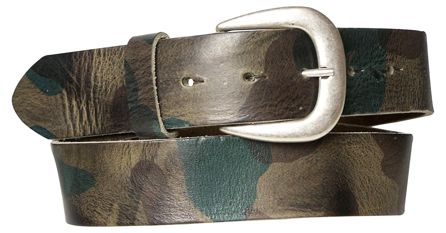 solid metal military buckle FRONHOFER Thick military webbing belt
