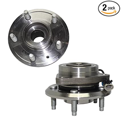 Brand New (Both) Front Wheel Hub and Bearing Assembly for For - 2012-